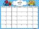 Editable French Calendars 2016-2017/Calendriers en francais