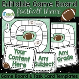 Editable Game Board | Create Your Own Game Board Football Theme