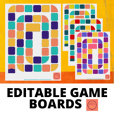 Editable Game Boards + Game Pieces