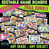 Editable Game Boards MEGA Bundle