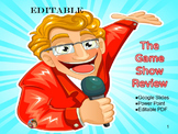 Editable Game Show Review Power Point or Digital Slides