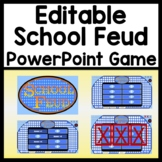 Editable Game Template School Feud! {Family Feud Game Show