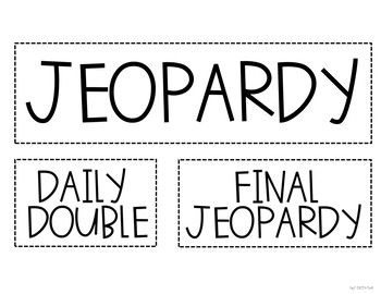 Editable Game Templates: 6 Classroom Games for ANY subject