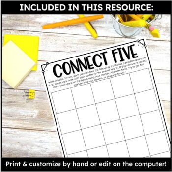 Editable Game Templates for Math Stations