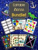 Editable Games Bundle!