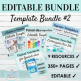 Editable Games and Activities BUNDLE #2   DIGITAL LEARNING