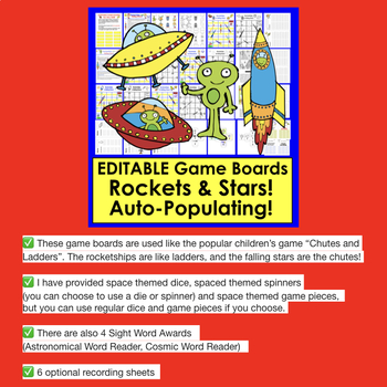 Editable Games and Activities BUNDLE for Back to School  Auto Fill From ANY LIST