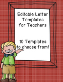 Editable General Letter Templates