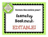 Editable Geometry Bookmark
