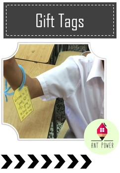 Editable Gift Tags ~ Freebie