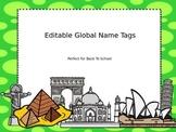 Editable Global Name tags and Numbers