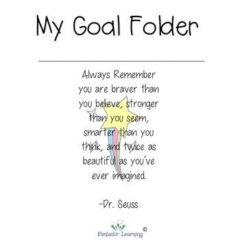 Goal Folder