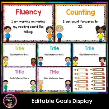 Editable Goal Posters