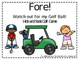 Editable Golf Hide and Seek Game