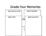 Editable Grade 4 Memory Book
