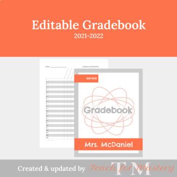 Editable Grade Book