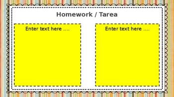 Editable Grade Level Parent Night Presentation