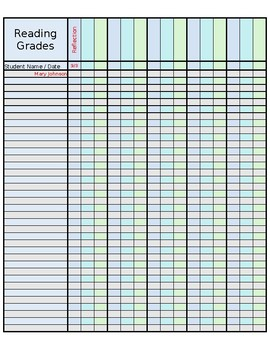 Sweet image in printable grading sheets