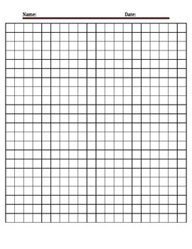 Editable Graph Paper
