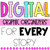Editable Graphic Organizers for GOOGLE CLASSROOM ***GROWING BUNDLE