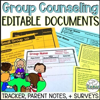 Editable Group Counseling Documents