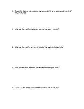 Editable Group Project Reflection