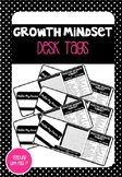 Editable Growth Mindset Desk Labels