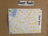 Editable Guest Book Page for FOOD Events