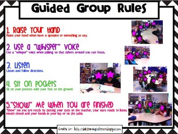 {Editable} Guided Math Template