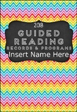 Editable Guided Reading Records and Program Folder