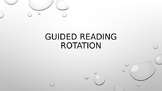 Editable Guided Reading Rotation