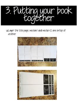 Editable Half Page Flip Book Template