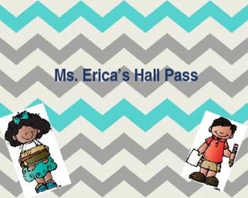 Editable Hall Passes