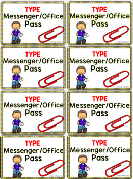 Editable Hall Passes