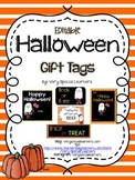 Editable Halloween Gift Tags