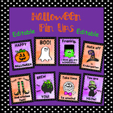 Editable Halloween Poster Set - (Words of Kindness and Encouragement)