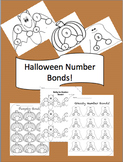 Editable Halloween Theme Number Bonds
