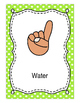 Editable Hand Signal Posters- Bright Polka Dot Set