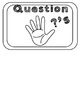 Editable Hand Signals: A Classroom Management Tool (black and white)