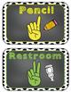 Editable Hand Signals: A Classroom Management Tool (black