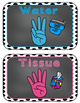 Editable Hand Signals: A Classroom Management Tool (black