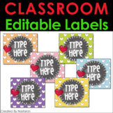 Editable Labels - Editable Gift Tags For Teacher Appreciation
