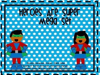 Editable Heroes Are Super Mega Pack