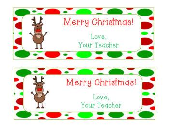Editable Holiday Bookmarks