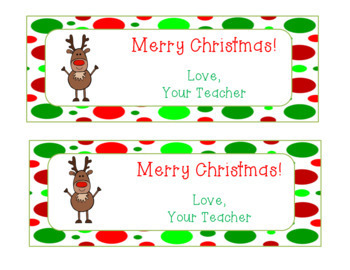 Editable Holiday Bookmarks