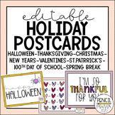 Editable Holiday Postcards 2020/2021