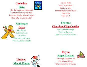 Editable Holiday Recipe Book