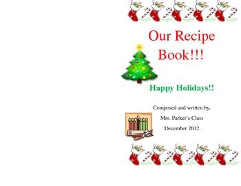Editable Holiday Recipe Book