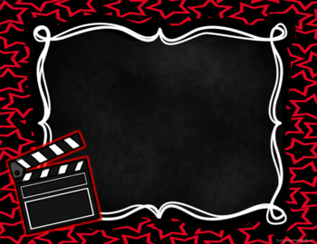 Editable Hollywood Themed Open House PowerPoint Template