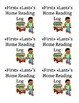 Editable Home Reading Log Label